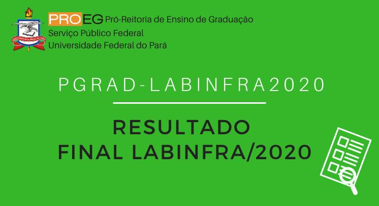 LABINFRA 2020 - RESULTADO FINAL