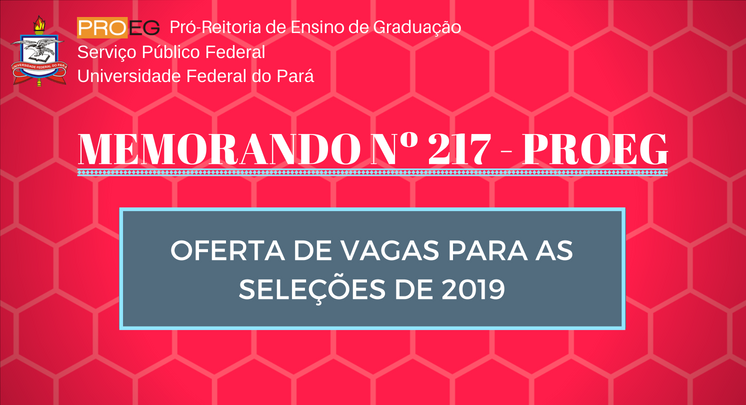 MEMORANDO N° 217/2018 - PROEG